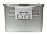 Stainless-Steel Count Sheet Holder