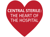 "CS ""Heart of the Hospital"" Fine Sign"